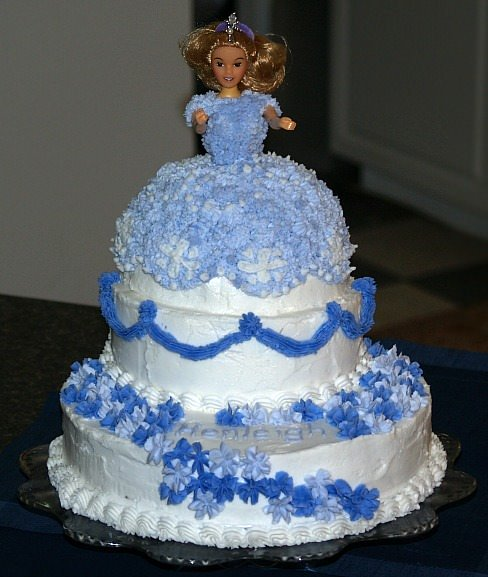 Doll Cake for Kids Party Cakes