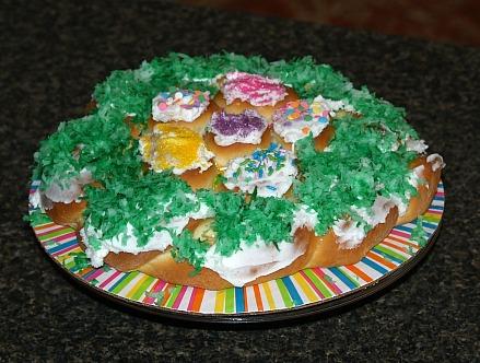 Easter Nest Coffee Cake