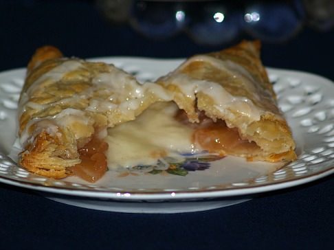Turnover with Apple Cherry Cheese Filling