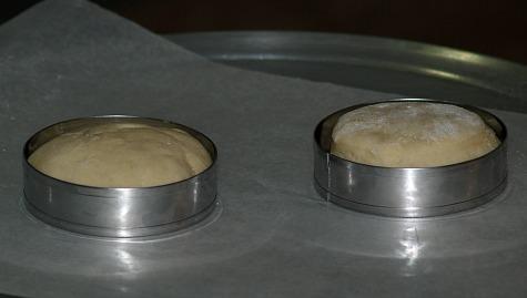 English Muffins Shaped with Molds