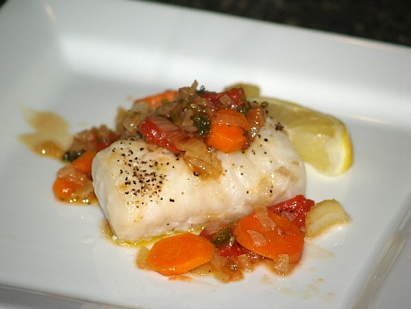 Baked Fish and Vegetables