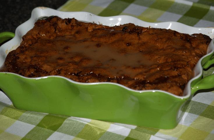 Fresh Apple Rum Cake Recipe