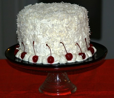 Fresh Coconut Cake Recipe