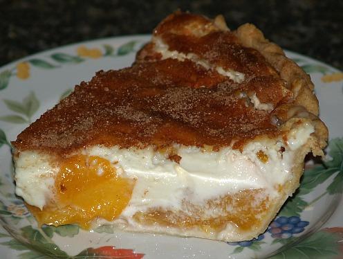 Peach and Cream Cheese Pie