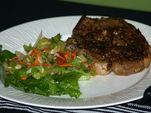 Fresh Rosemary Pork Chop Recipe