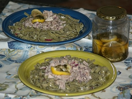 Fresh Tuna Salad Recipe with Pasta