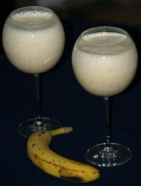 How to Make Drinks with Bananas