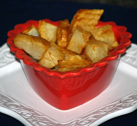 Fried Baked Potato Chunks