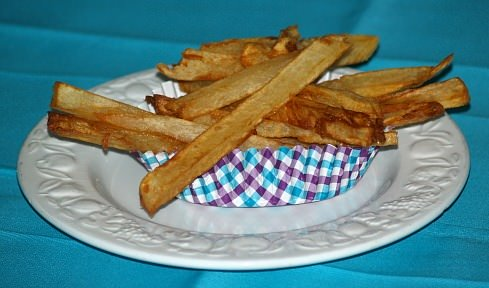 French Fried Baked Potatoes