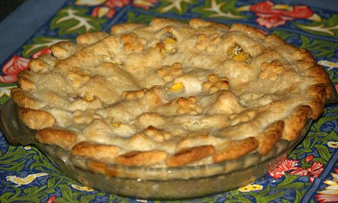 Georgia Peach Pie Recipe