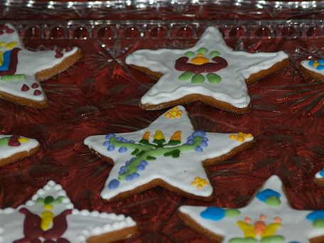 Gingerbread Cookie Star Cut Outs