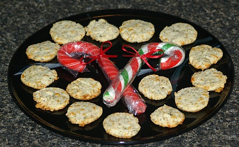 goat cheese wafers