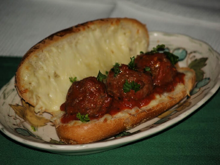 Greek Meatballs for a Crowd