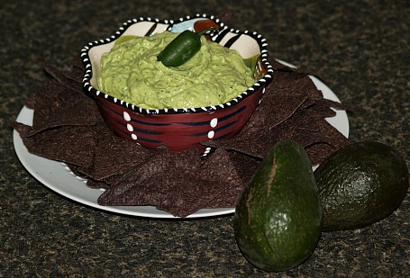 Fresh Guacamole Appetizer Recipe