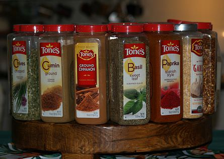 stored spices