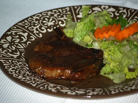 Honey Pork Chops Recipe