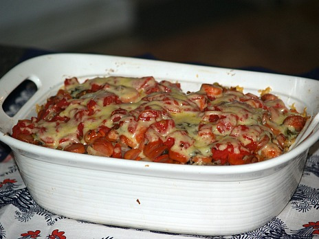Hot Dog Veggie Casserole