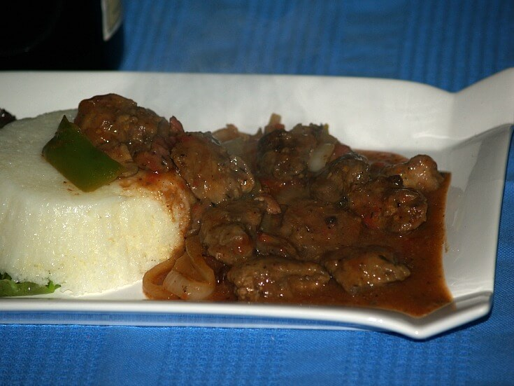 Chicken Livers and Grits