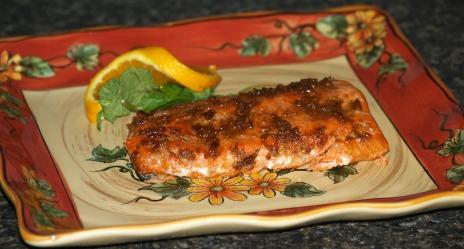Roasted Orange Salmon Recipe