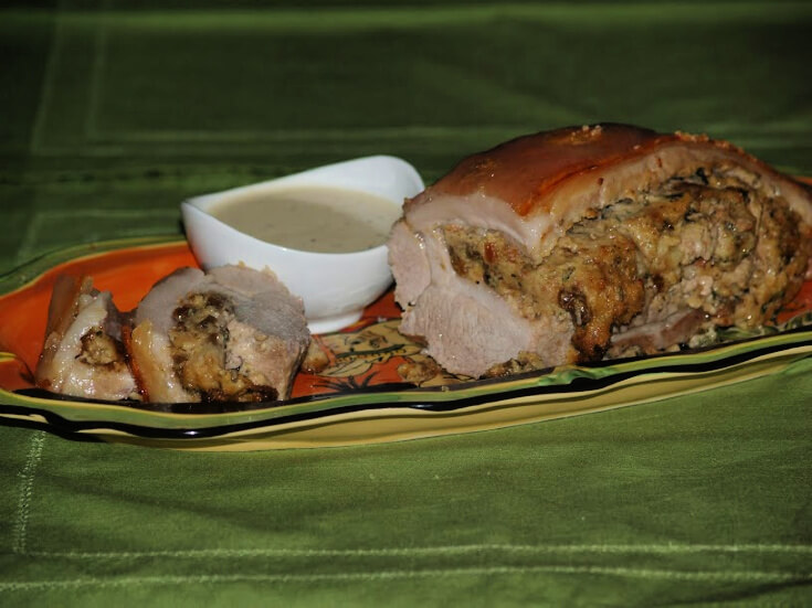 Stuffed Pork Belly Recipe
