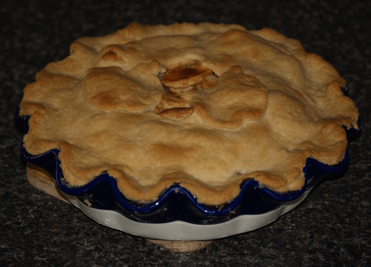 Baked Old Fashioned Double Crust Apple Pie