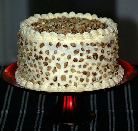 Black Walnut Cake Recipe