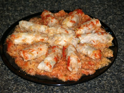 how to make cabbage rolls for appetizers