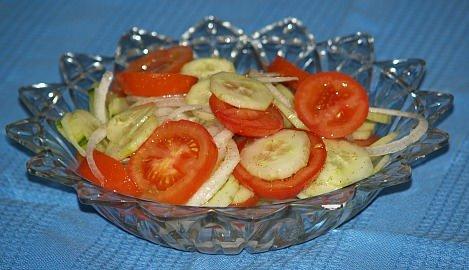 My Basic Cucumber Salad Recipe