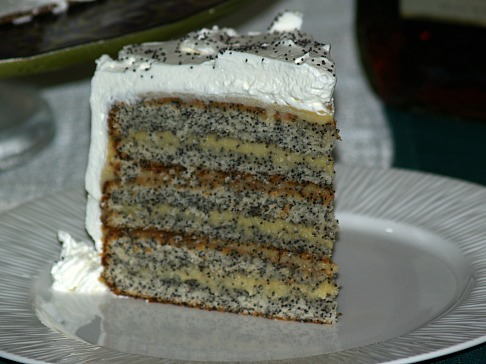 How to Make Poppy Seed Cake Recipe with Almond Filling