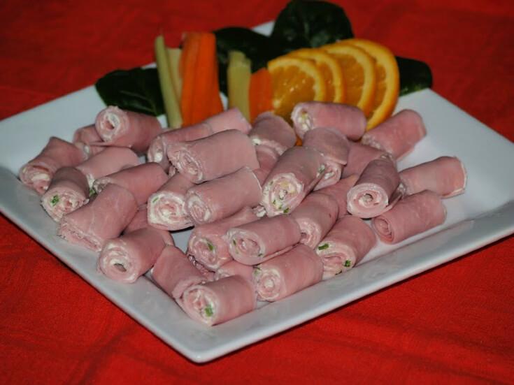 Ham and Cheese Wheels