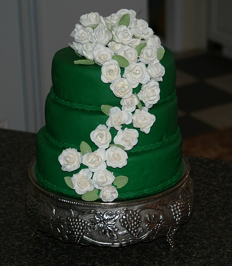 Irish Whiskey Cake or Irish Wedding Cake