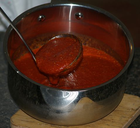Italian Pizza Sauce Recipe