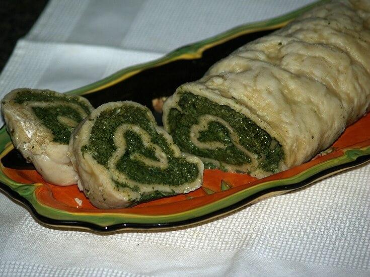 Italian Spinach Roll Recipe
