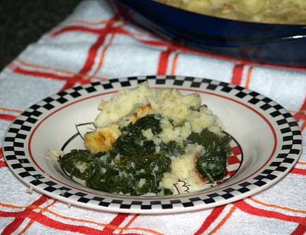 Kale with Potatoes