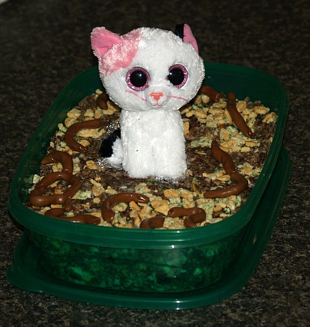 Valentine Kitty Litter Cake Recipe