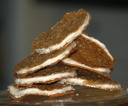Lace Sandwich Cookie Recipe