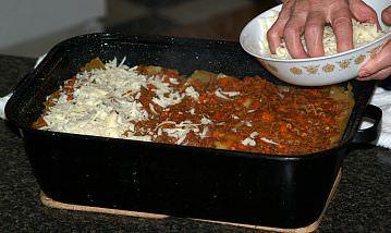 Preparing Lasagna Step 6