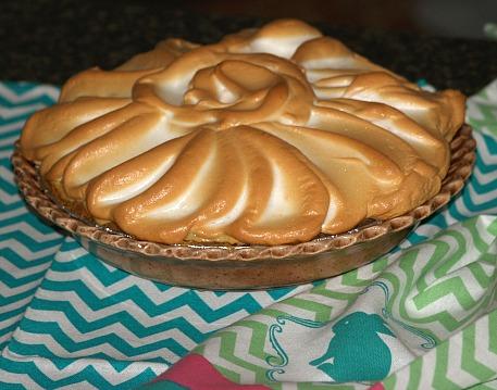 Lemon Blueberry Meringue Pie Recipe