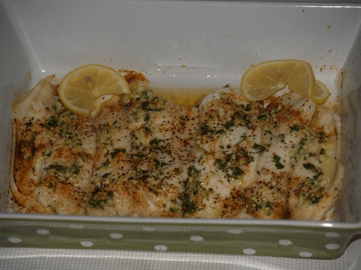 Lemon Butter Tilapia