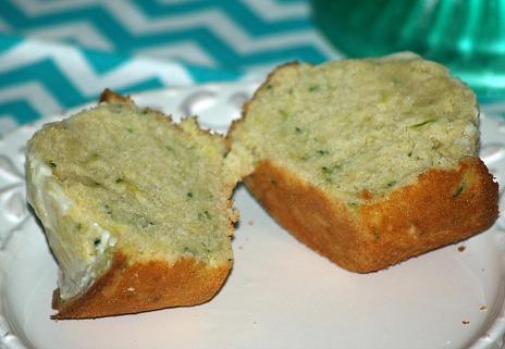 Lemon Muffins Recipe with Zucchini