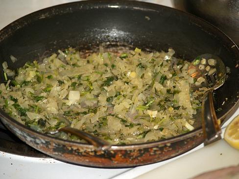 herb mixture to stuff chicken