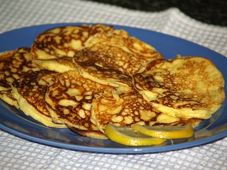 Lemon Ricotta Cheese Pancakes