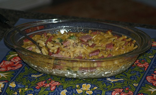 Macaroni and Ham Casserole