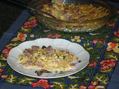 Macaroni and Ham Casserole