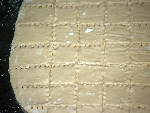 Unleavened Bread Ready for Oven