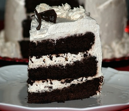 Mexican Chocolate Layer Cake Recipe