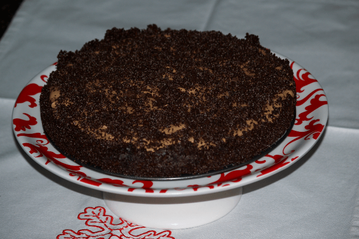 Frozen Mocha Torte Recipe