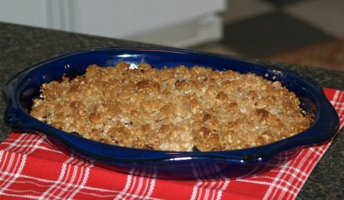 Mixed Berry Crisp Recipe