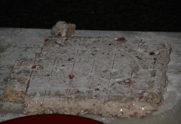 Turn Out on Powdered Sugar Board