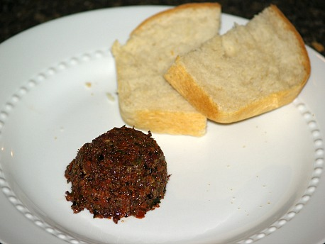 Olive Spread Appetizer